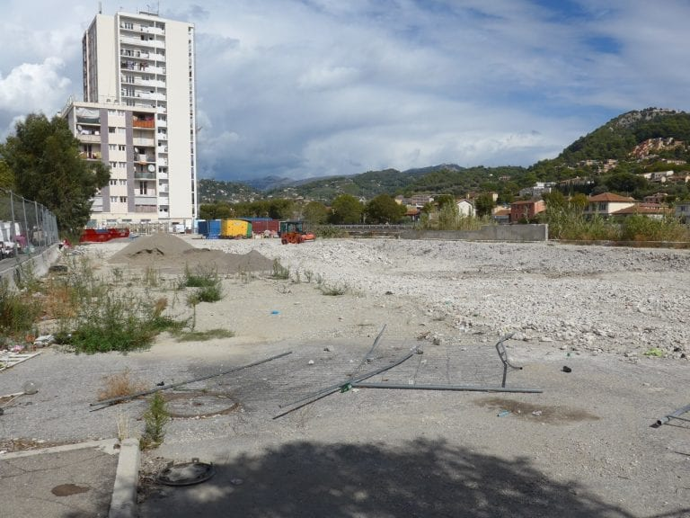 Chantier Boulevard Ariane