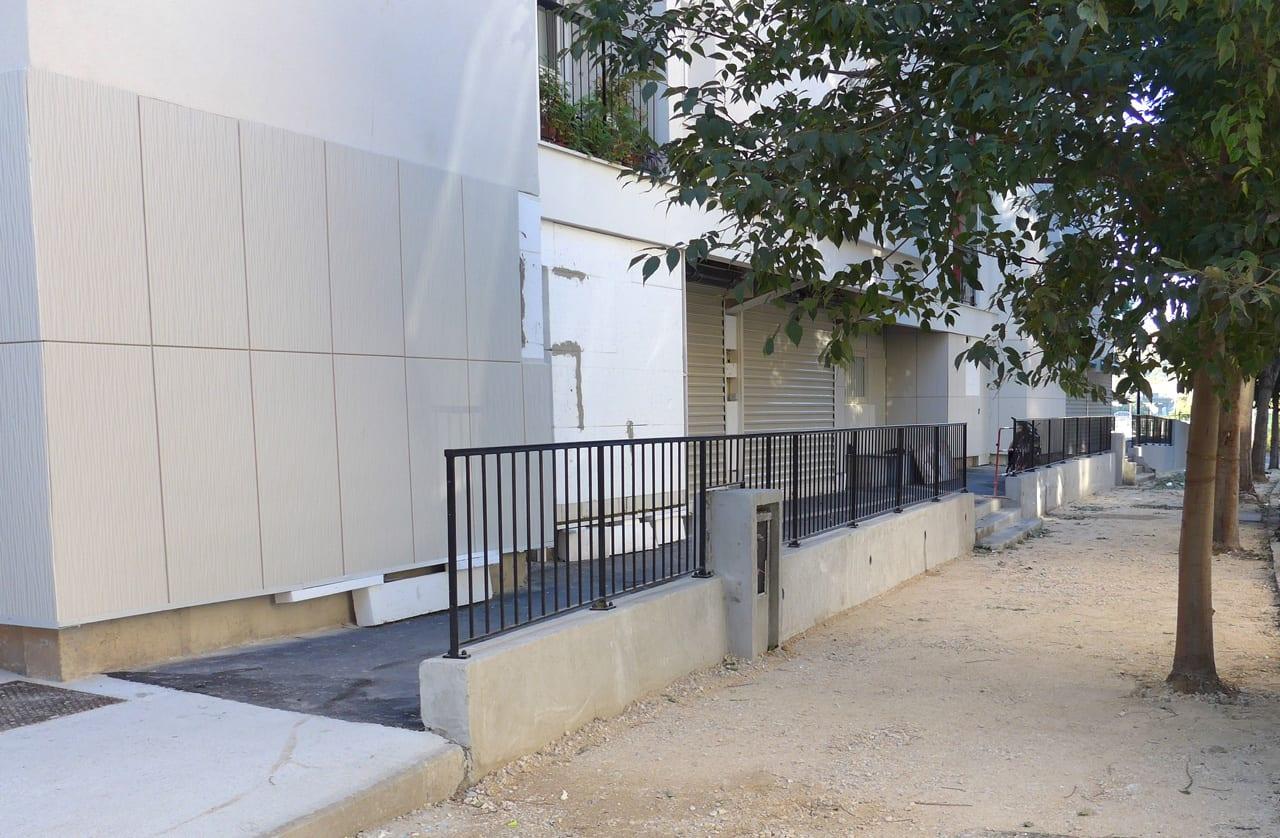 Résidentialisation boulevard de l'ariane