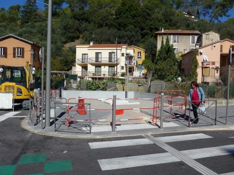 Aménagement square Saramito