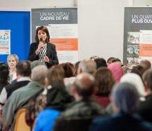 rénovation publique de présentation du nouveau programme de renouvellement urbain