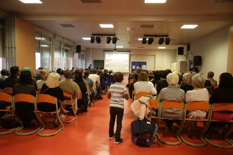 2eme réunion publique