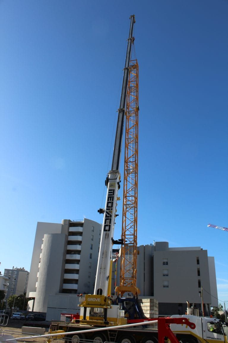 installation chantier Résidence Hotelière